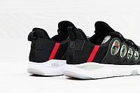Мужские кроссовки Fila черные с белым