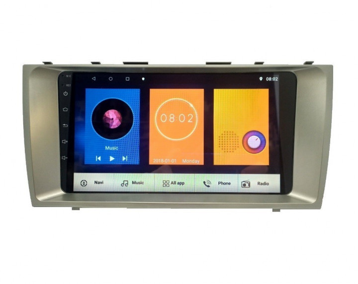 Штатная магнитола Toyota Camry V40 2008-2011 Android 10.1 экран 9 дюймов 4/32Gb с GPS,Bluetooth,WiFi 4x60Вт