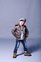 Детская куртка для мальчика BRUMS Италия 133BFAA010 Коричневый