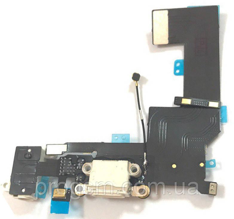 Шлейф iPhone 5SE Charge White