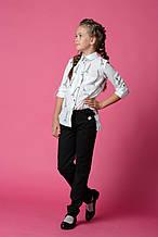 Школьные брюки для девочки Школьная форма для девочек MONE Украина 1416-2