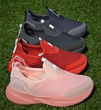 Детские кроссовки сетка Адидас красные р31-35, копия, фото 2