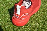 Детские кроссовки сетка Адидас красные р31-35, копия, фото 3