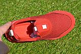 Детские кроссовки сетка Адидас красные р31-35, копия, фото 5