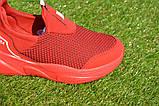 Детские кроссовки сетка Адидас красные р31-35, копия, фото 7