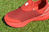 Детские кроссовки сетка Адидас красные р31-35, копия, фото 8