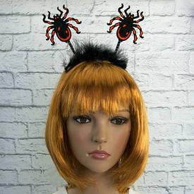 Ободок (обруч) для волос антенки Паук