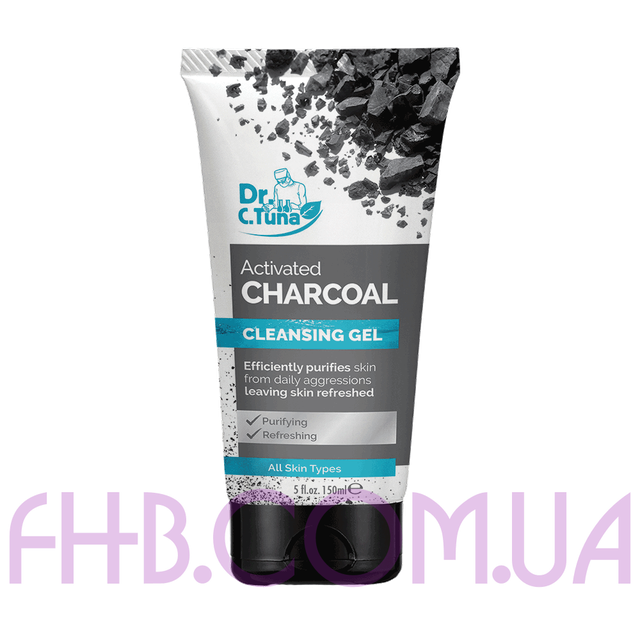 Dr. C. Tuna Activated Charcoal Purifying Cleansing Gel 150 мл
