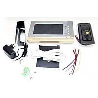 Домофон Intercom V80p-m1 цветной видеозвонок с картой памяти (SM00486)
