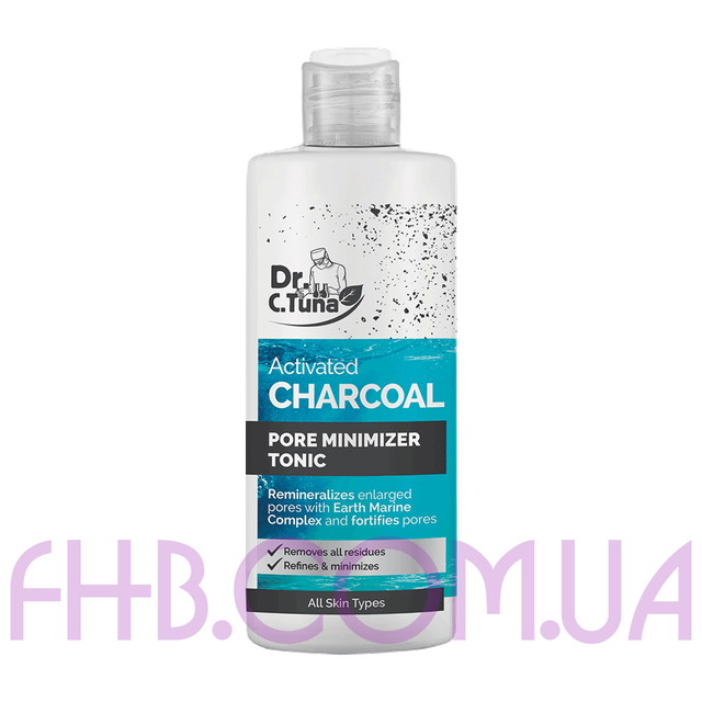 Dr. C. Tuna Activated Charcoal Clarifying Pore Minimizer Tonic 225 мл