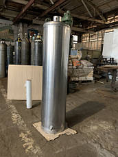Водонагреватель-титан на дровах 80 л из нержавейки 2 мм, фото 3