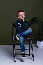 Демисезонные детские джинсы для мальчика BRUMS Италия 143BFBF007 синий