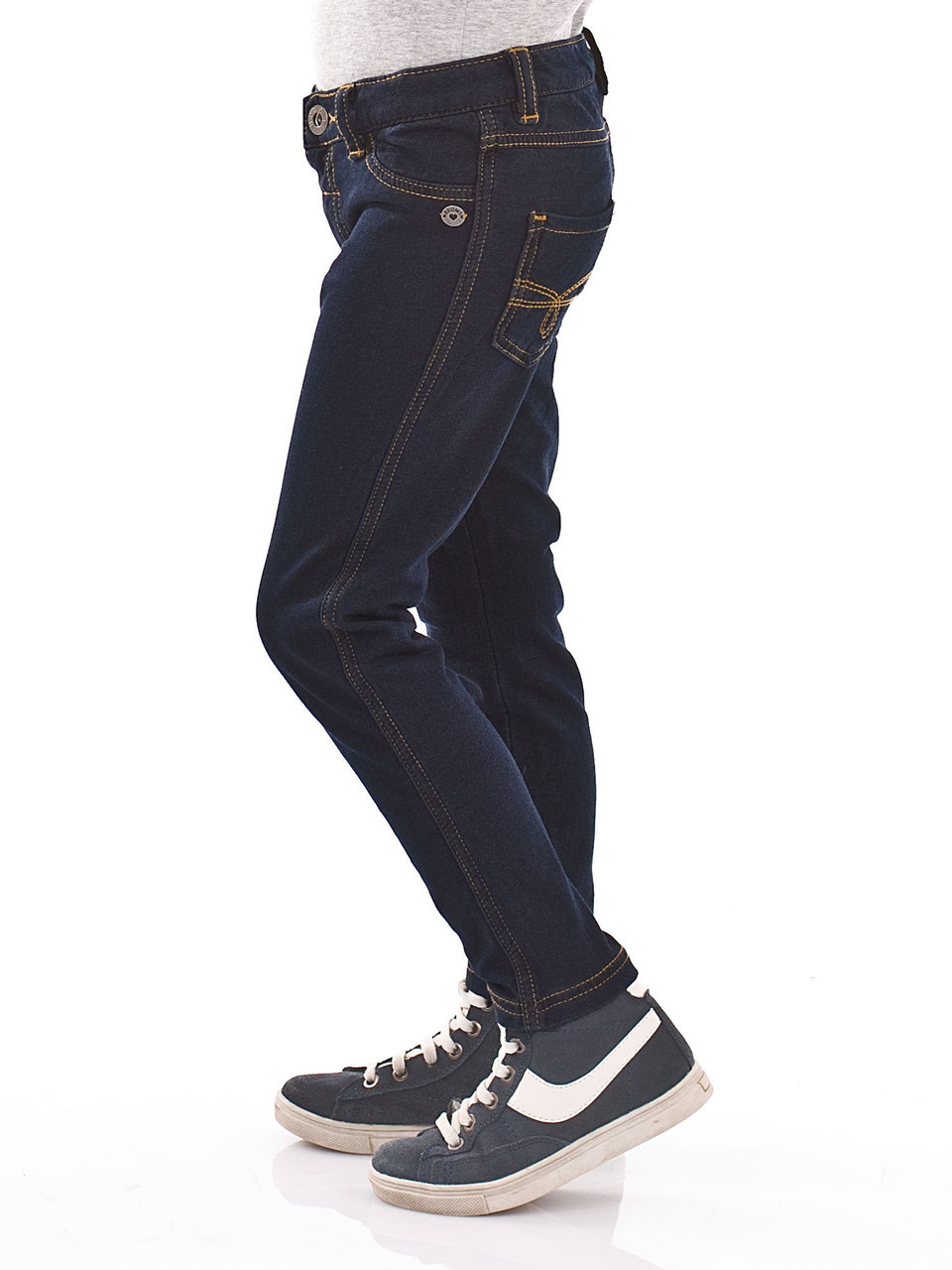 Детские джинсы для девочки BRUMS Италия 143BGBM006 Синий