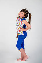Детские лосины для девочки BRUMS Италия 151BGBM009 Фиолетовый