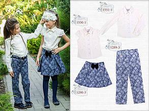 Школьная блузка для девочки Школьная форма для девочек MONE Украина тысячи пятьсот пятьдесят один
