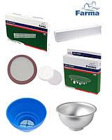 Фильтрация молока (фильтра, цедилки)
