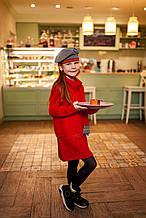 Детский пуловер для девочки BRUMS Италия 163BGHC005, красный 122