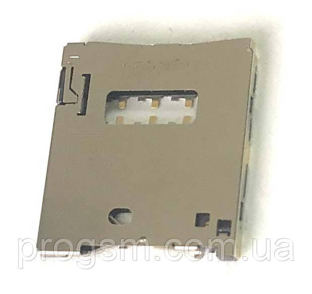 Сим коннектор для Asus ZenFone 2