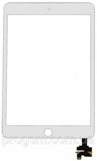 Тачскрин iPad Mini 3 White (A1599 / A1600)