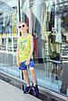 Детская майка для мальчика BRUMS Италия 181BFFN024 Зеленый, фото 2