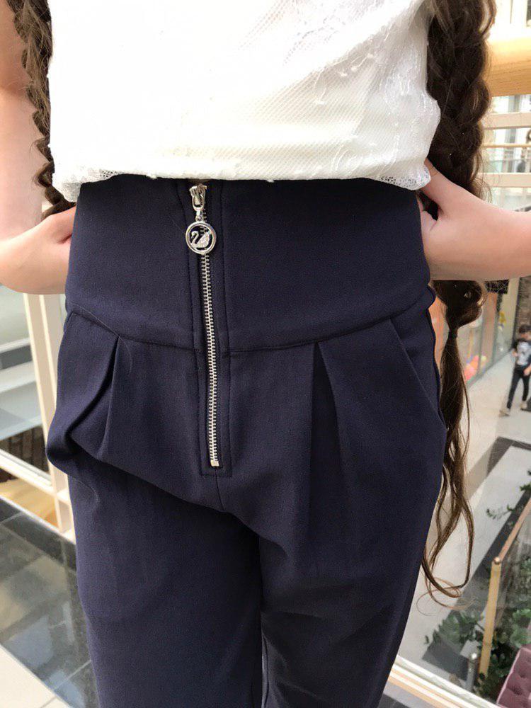 Школьные брюки для девочки Школьная форма для девочек Colabear Турция 184316 Черный Для девочек, 138, 65 %