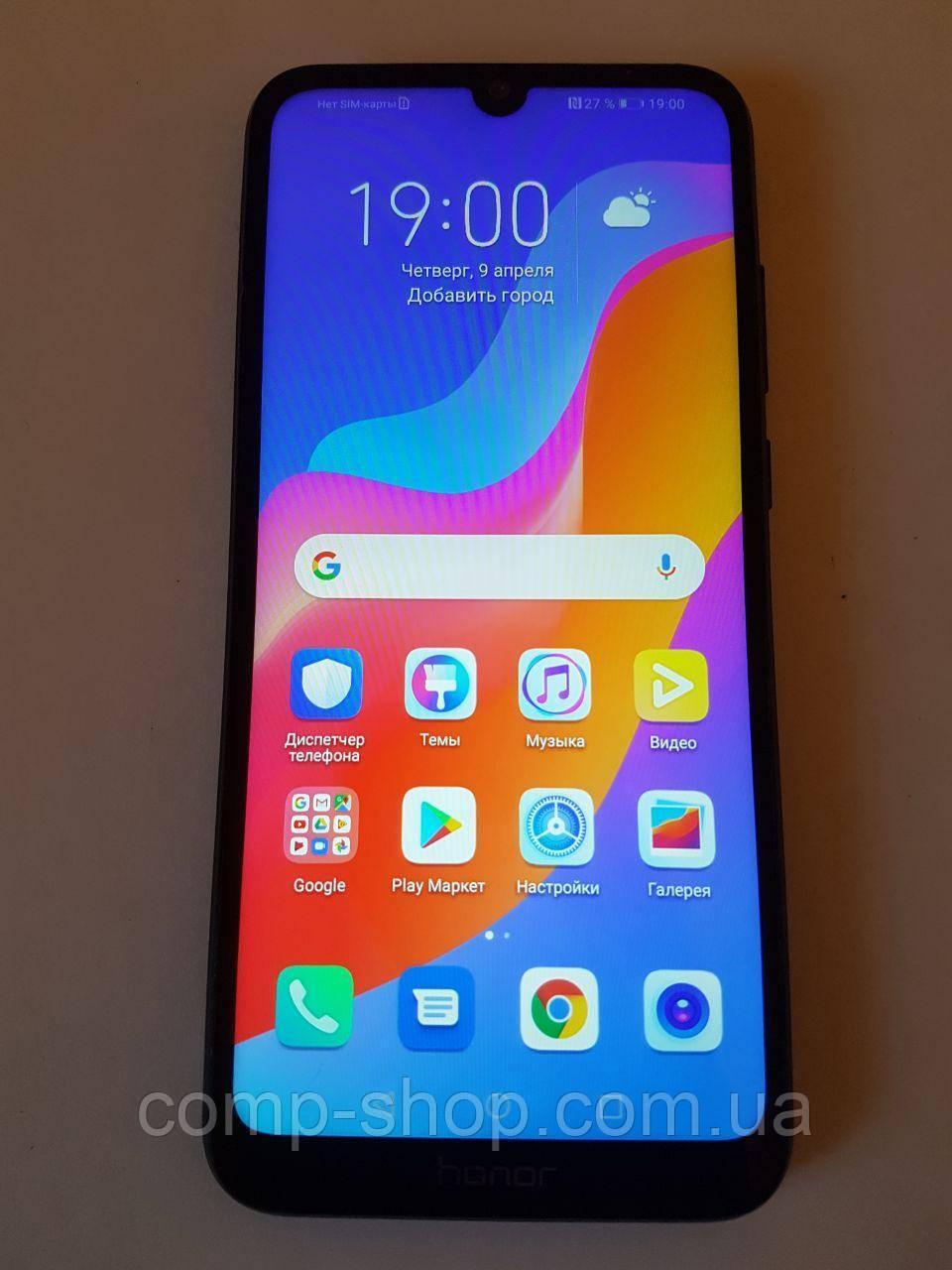 Смартфон Honor 8A 2/32Gb Black