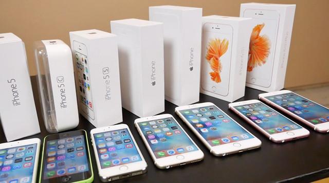 Энтузиаст сравнил iPhone 6s и iPhone 6s Plus со всеми iPhone предыдущих поколений [видео]