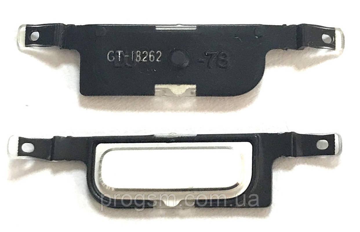 Кнопка центральная Samsung i8262 White