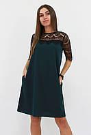 S, M, L   Коктейльное женское зеленое платье Arizona