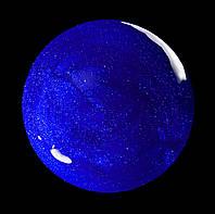Гель-лак для  ногтей № 193 SALON PROFESSIONAL  (CША)  синий с плотным бдеском