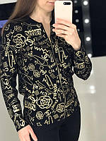 Женская кофта на молнии Chanel