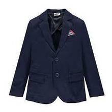 Детский пиджак для мальчика MEK Италия 191MHAT002 Синий