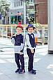 Детские брюки для мальчика MEK Италия 191MHBH002 темно-синий, фото 3