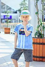 Детские шорты для мальчика MEK Италия 191MHBM008 Серый