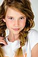 Детская футболка для девочки MEK Италия 191MIFN008 Белый, фото 3