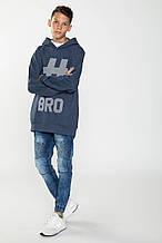 Демисезонные детские джинсы для мальчика Young Reporter Польша 193-0110B-25-002-1 Голубой