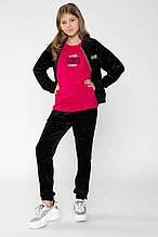 Детские спортивные штаны для девочки Young Reporter Польша 193-0118G-23-100-1 Черный весеннии осенью