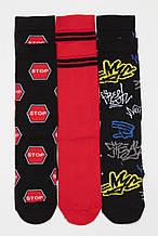 Детские носочки для мальчика Young Reporter Польша 193-0995B-02-100-1 Черный