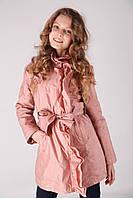 Детский плащ для девочки Верхняя одежда для девочек RIZZIBOY Италия 1G53F Розовый