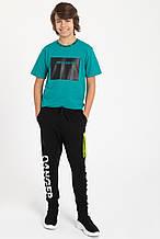 Детские спортивные штаны для мальчика Young Reporter Польша 201-0117B-06-100-1 Черный весеннии осенью