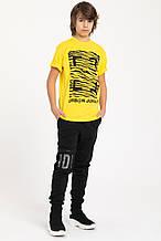 Детские спортивные штаны для мальчика Young Reporter Польша 201-0117B-09-100-1 Черный весеннии осенью