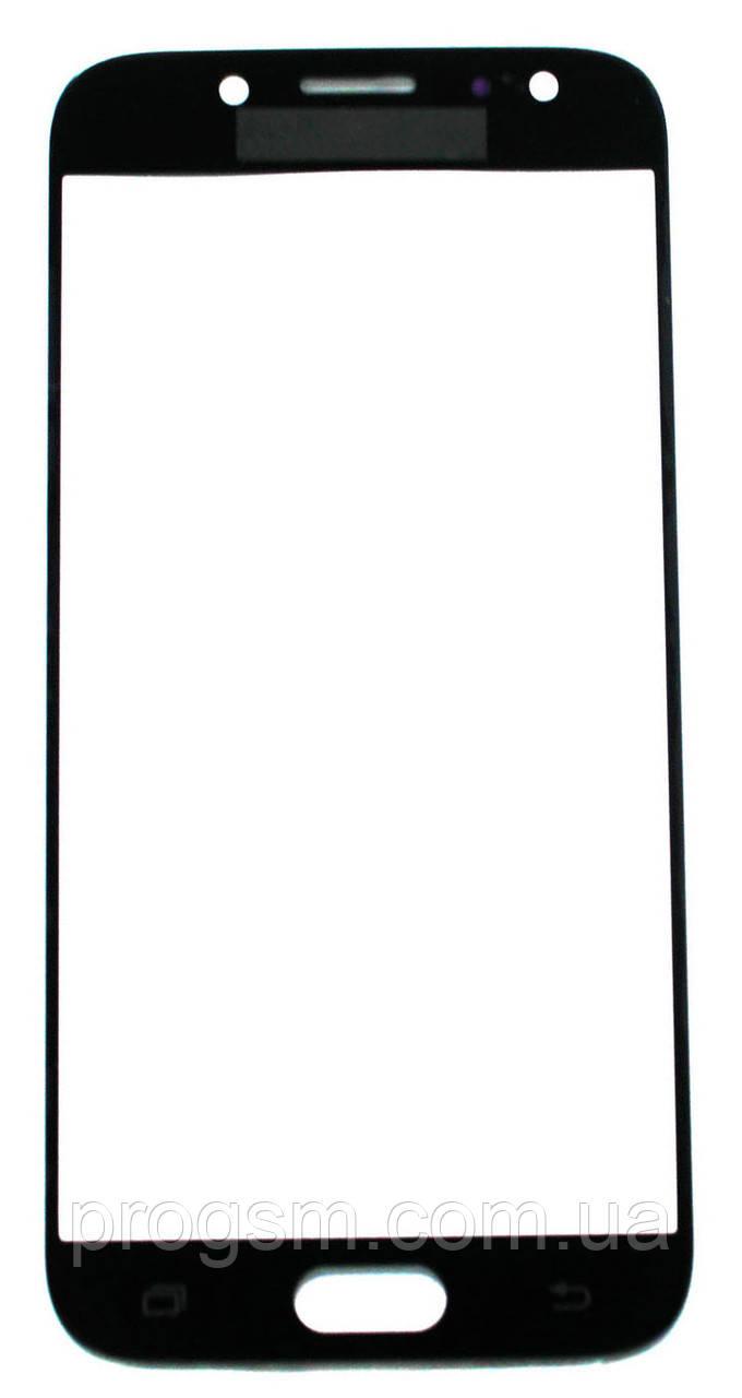 Стекло дисплея Samsung Galaxy J5 (2017) SM-J530F Black (для переклейки)