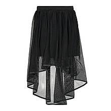 Нарядная юбка для девочки MEK Италия 201MICA001 Черный 152