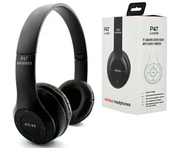 Bluetooth наушники P47 (накладные)