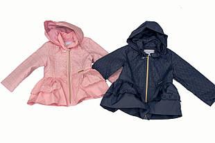 Детская ветровка для девочки Одежда для девочек 0-2 Baby Band Италия 2527 Розовый весенняя осенняя