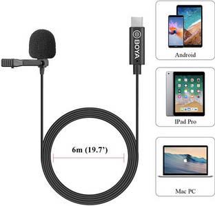 Boya BY-M3 петличный микрофон для мобильных устройств