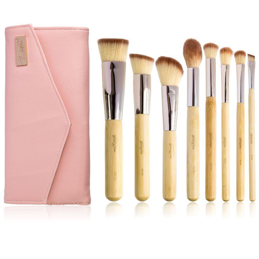 Набор кисточек для макияжа из 8 инструментов maXmaR MB-296