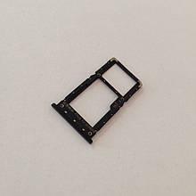 Сим-лоток для Xiaomi Redmi Note 6 Black