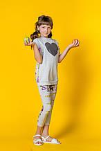 Детские лосины для девочки iDO Италия 4 S559 00 Серый