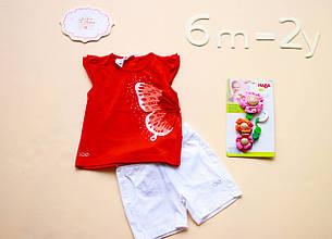 Детские шорты для девочки Одежда для девочек 0-2 iDO Италия 4 Y010 Белый 80